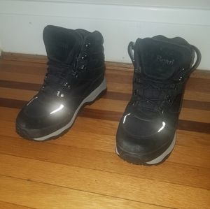 L.L. Bean black suade waterproof boots. Size 11